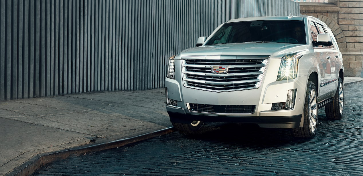 escalade outdoor front view