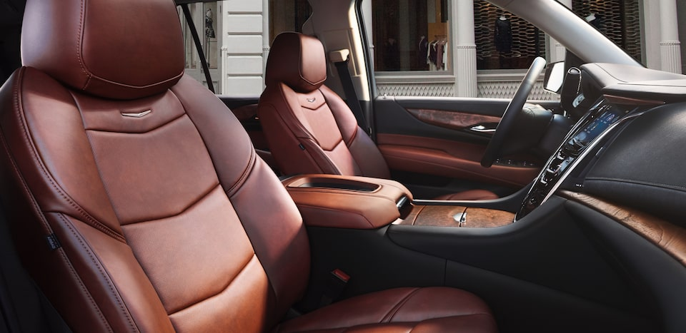escalade esv seats