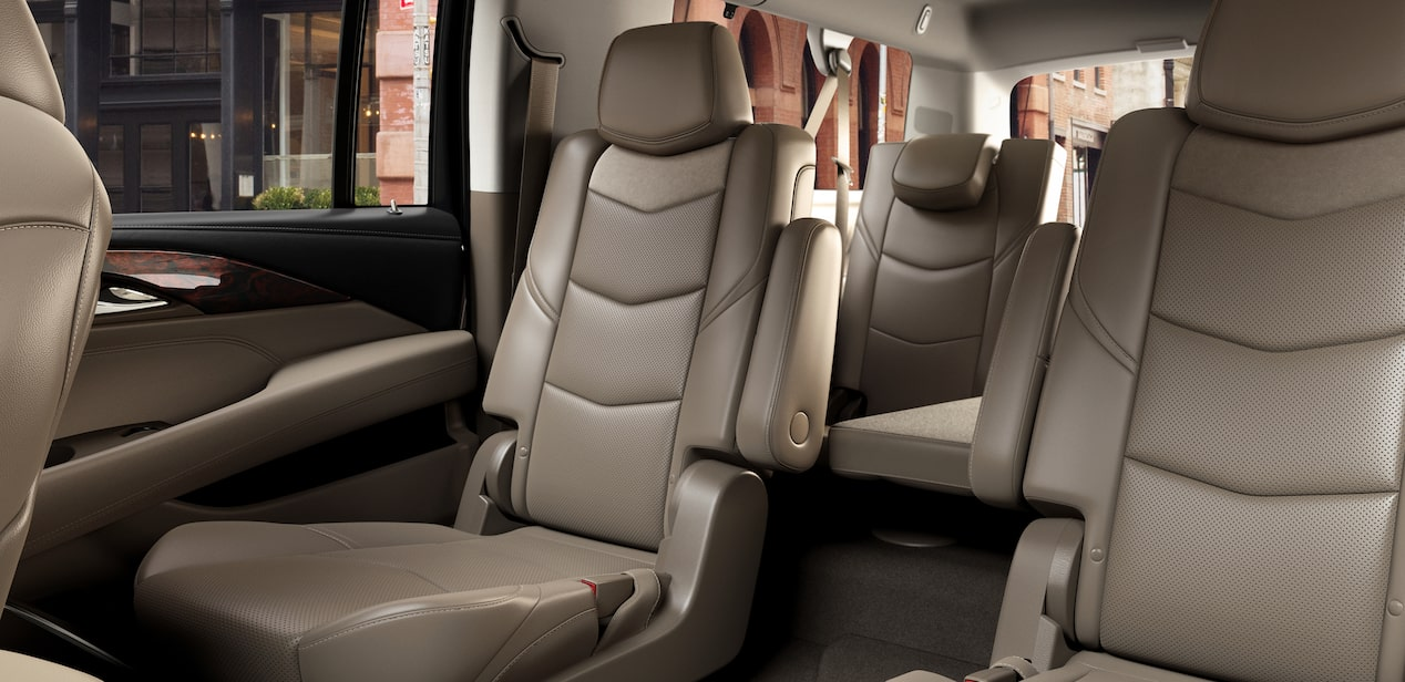 escalade rear seats