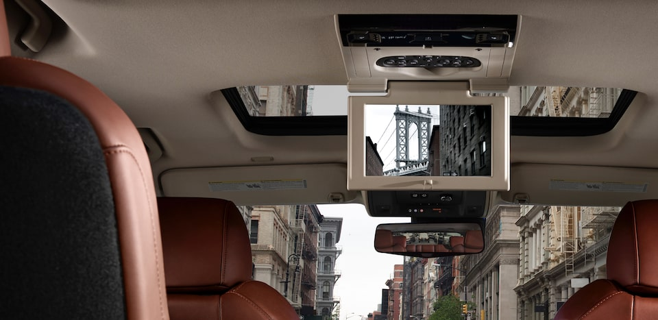 escalade rear view camera