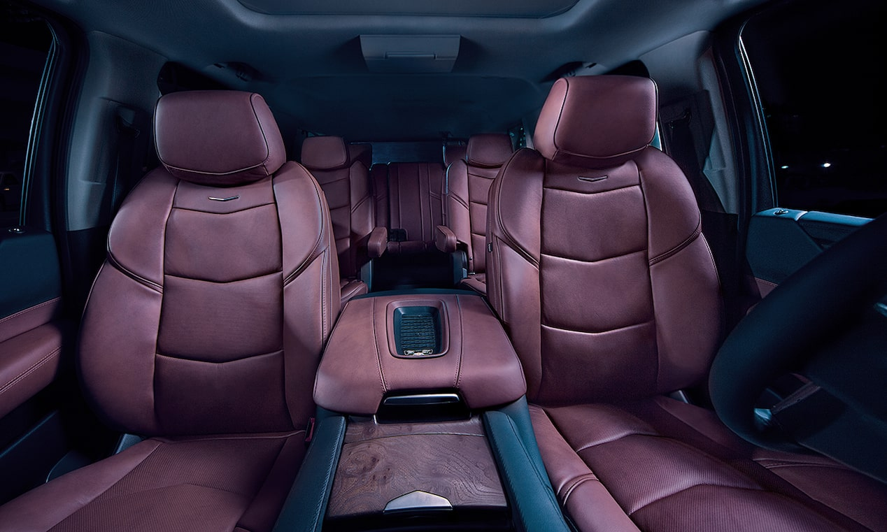 escalade sport seating