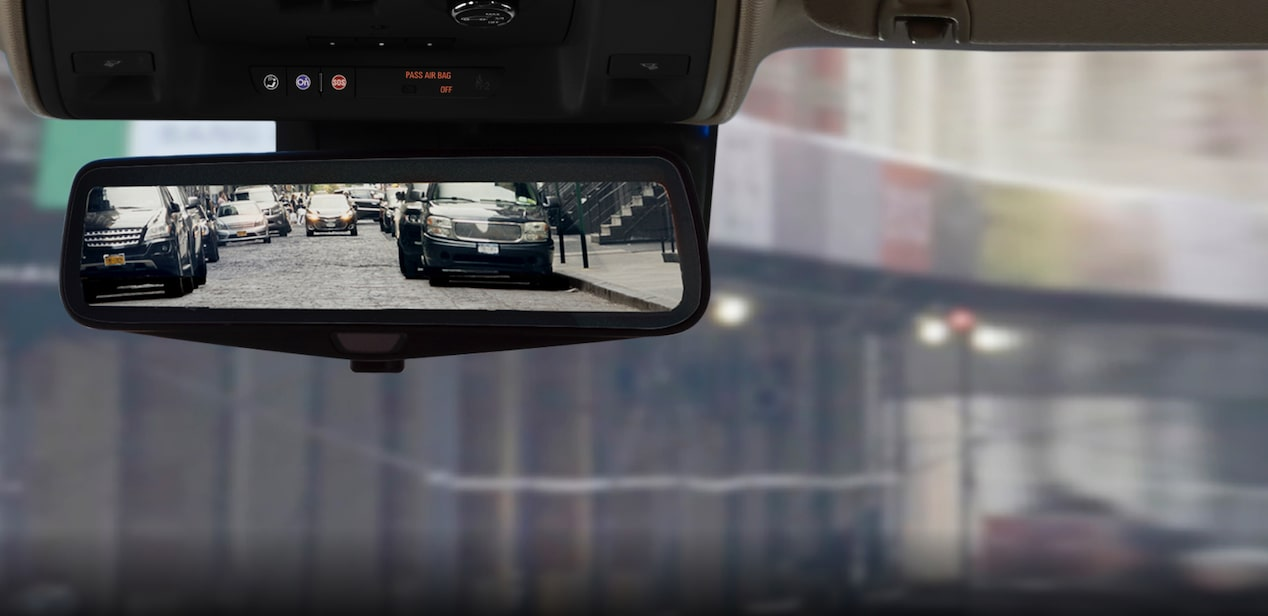 escalade rear camera