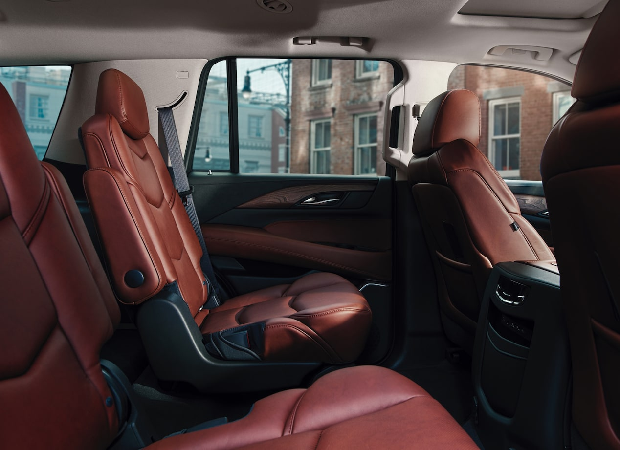 escalade backseats