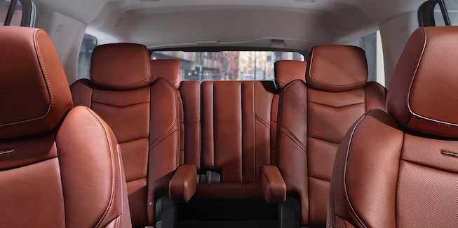 escalade seats