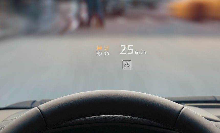 XT4 HEAD UP DISPLAY