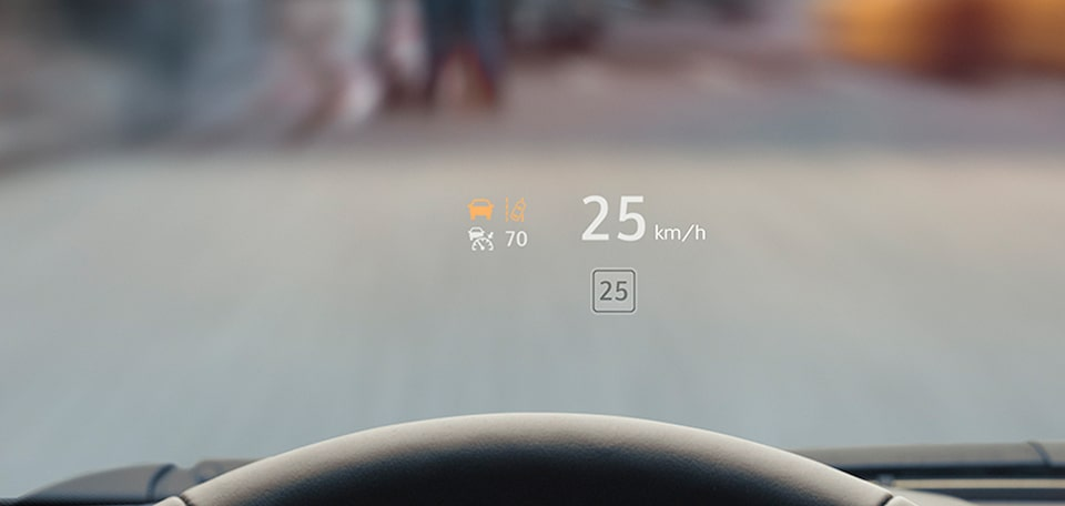 XT4 heads up display