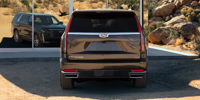 Escalade tail lamp