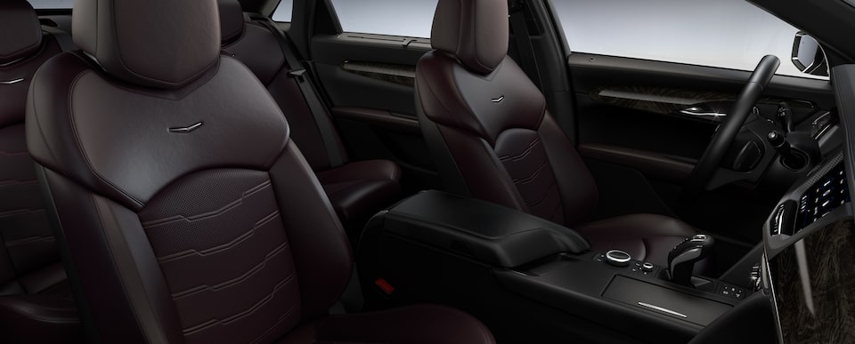 ct6 interior dark auburn