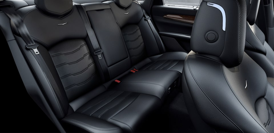 ct6 interior spacious legroom