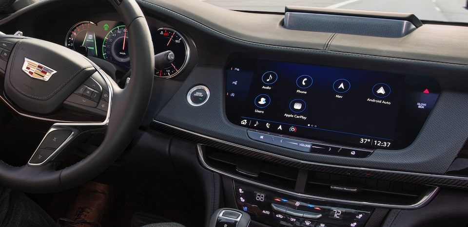 ct6 interior driver information system