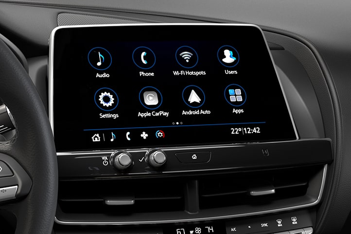 CT5 infotainment