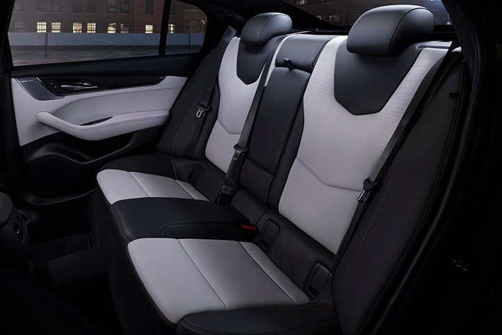 CT5 rear seats