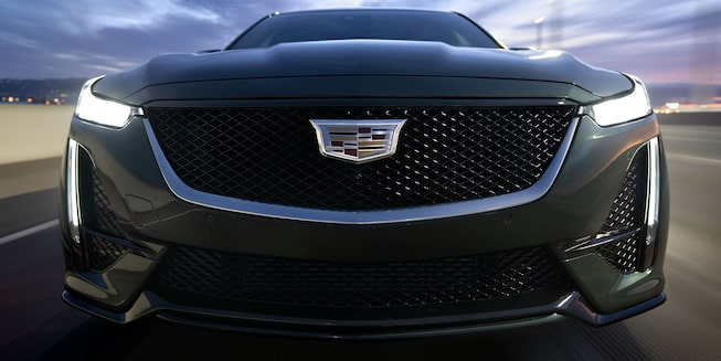 CT5 front view grille