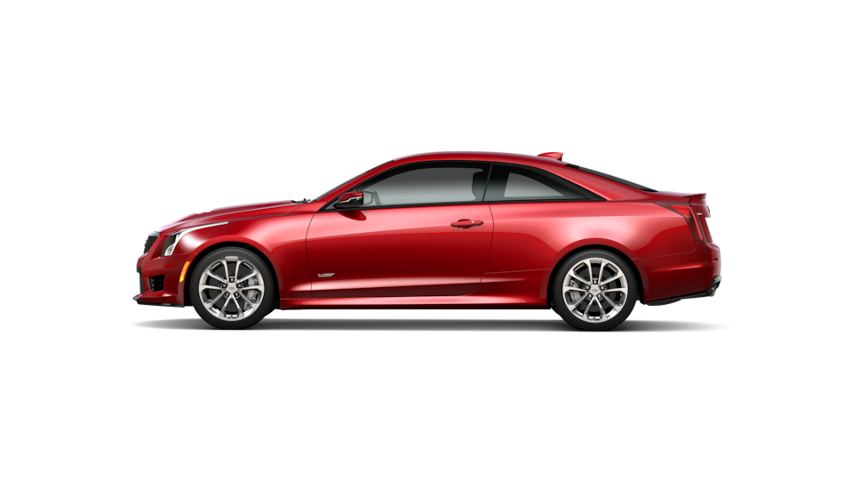 ATS-V coupe trim red