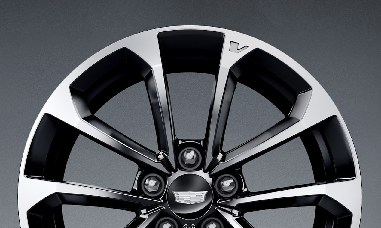 V-forged aluminium wheels