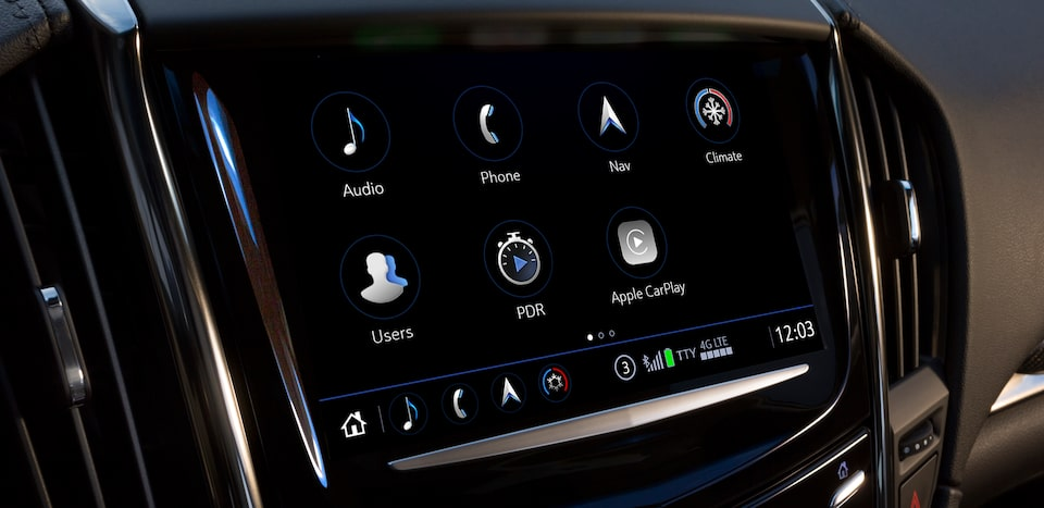 cadillac user experience system