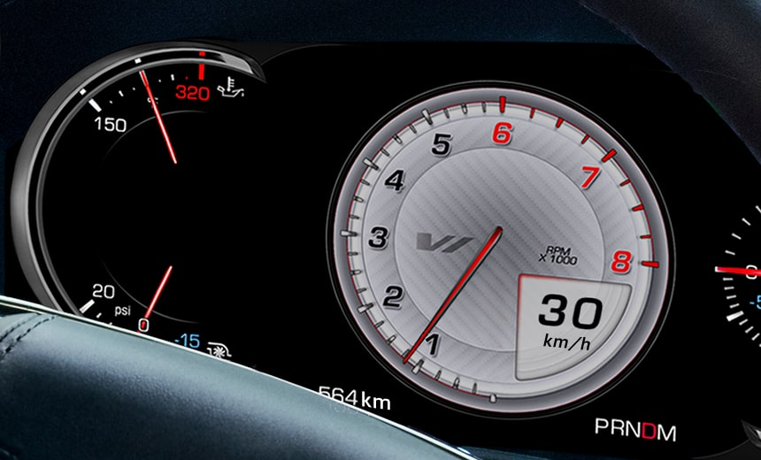 reconfigurable instrument cluster