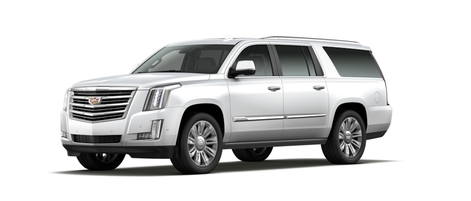 escalade esv white